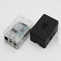neue himbeere großhandel-Großhandels- 2017 neue schwarz aktualisiert Himbeer Pi Fall Fällen schwarz weiß transparent für Raspberry Pi 3 2 b