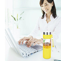 Wholesale Office Direct - Timed Smart Reminder Glass Double Glasses Drinking Office Student Patients Health Drink Cups Gift Reusable Water Bottles