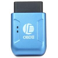 Wholesale Real Vibration - New OBDII GPS TK206 OBD 2 Real Time GSM Quad Band Anti-theft Vibration Alarm GSM GPRS Mini GPRS Car Tracker Tracking OBD II
