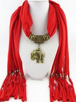 Wholesale Scarf Charms Elephants - Alloy Cross Pendant elephant Scarf Jewelry Beads fridge Scarves Necklace Scarfs Animal Heart Flower Pendants