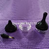 New Arrival 10g Empty Lip gloss gel bottle with brush applicator Raindrop type eye shadow Vials for women men free shipping
