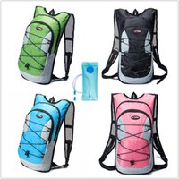 Wholesale Bicycle Hydration Backpack - mayber sport outdoor hydration gear 2L Cycling Bicycle Riding Hiking Bag+ Water Bladder Hydration Camelbak Backpack water bag A111331