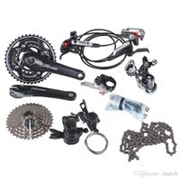 Wholesale Groupset Mountain - Shimano deore m610 3x10 s groupset speed with hydraulic disc brake m615 mtb mountain bike