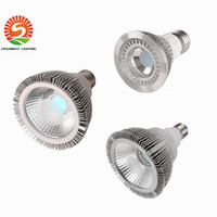 Dimmable Projecteur à ampoules led par38 par30 par20 85-265V 10W 20W 25W E27 par 20 30 38 Éclairage LED Spot Lampe éclairage downlight 20