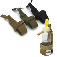 Wholesale Running Hydration Bottle - Outdoor Sports Combat Tactical Water Pouch Hydration Pack Water Bottle Holder Carrier SO11-651