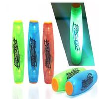 Wholesale fidget stick resale online - LED Fidget Hand Spinner For MOKURU Tabletop Toy Stress Reliever Toy Flip the Stick LED Fidget Rollver Mobar Rolling Stick Toy