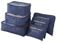 Wholesale Red Shoe Book - Six-Piece Set of Containing Bag  Storage Bag  Travel Bag For Shoes  Clothes  Books  Handbag  Sundries
