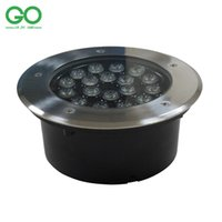 Wholesale Industrial Steps - LED Underground Lamps 18W 12V IP67 Waterproof Ground Led Buried Lamp Project Landscape Lights Engineering Light Outdoor Garden Step Lights