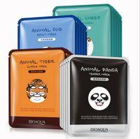 Wholesale Sheep Oil - BIOAQUA Tiger Panda Sheep Dog Shape Animal Face Mask Moisturizing Oil Control Hydrating Nourishing Facial Masks Free DHL