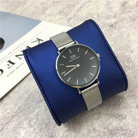 Wholesale 2017 In stock Daniel Wellington TOP brand fashion Casual sports watches men women military Quartz Watch watching relogio masculino