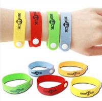 Wholesale Hand Band Baby - Mosquito Repellent Band Bracelets Anti Mosquito Pure Natural Baby Wristband Hand Ring Mosquito band Hand Ring KKA1934