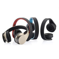 Wholesale Wireless Headsets For Tablets - BTH-811 Wired Bluetooth V3.0 Headsets Foldable Stereo wireless Headphones Earphones Handsfree Headset with Mic For cell Phones Tablet PC