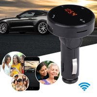 Atacado - Car MP3 Music Player Wireless Car Kit MP3 Player Rádio Bluetooth Transmissor FM SD Carregador USB Remoto Últimos estilos @ 119