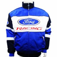 Wholesale ford brand cars - Brand winter F1 racing suit car motorcycle jacket karting drift game men auto moto motorbike Cotton-padded clothing for ford
