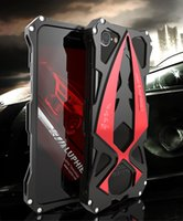 Wholesale Race Car Dirt - LUPHIE Metal Case for iPhone 7 7 plus Racing Car Design Never Fade Aluminum Armour for iPhone 7 Case Shockproof Back Cover