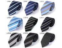 Wholesale Men S Silk Ties Polka - Men 's tie polyester silk Korean business 7cm dress tie interview tie professional collar spot wholesale