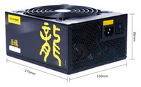 máquina x6 al por mayor-Fuente de alimentación PSU para computadora de minería 1250W GW-EPS1250DA (90+) 80plus Gold Support 6 Gráficos para Bitcoin Ethereum Machine Computadora PC de escritorio