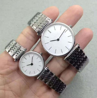 Wholesale Women Zone - 2017 watchesoffer2u suggest Couple Men Watch Women Watches Top Brand Quartz movement Daul Time Zone Roman Numerals Dial Wristwatches