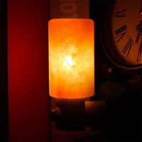 Wholesale Natural Led Candle - Mini Hand Carved Natural Crystal Himalayan Salt Lamp night light Create a unique ambience: Make you feel peaceful and good for sleep