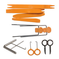 Wholesale open locksmith kit for sale - Group buy Universal Car Panel Removal Open Pry Tools Car Stereo Installation Kit Car Dash Door Radio Trim Panel Tool Locksmith Tools
