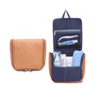Wholesale Hanging Toiletry Bags For Women - Wholesale- 2017 New listed Travel Toiletry bags Waterproof Cosmetic bag fashion For Women bag Case Make Up Organizer Hang Toiletry bag