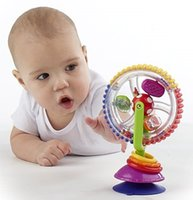 Wholesale Colorful Ferris Wheel - Wholesale- Baby Toys For Newborns 0-12 Months Colorful Wheel Ferris Baby Rattles Kid Toy Mobility Stroller Educational On The Bed Juguetes