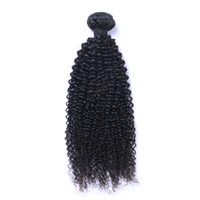 Wholesale 1bundle hair for sale - Brazilian Virgin Human Hair Afro Kinky Curly Unprocessed Remy Hair Weaves Double Wefts g Bundle bundle Can be Dyed Bleached