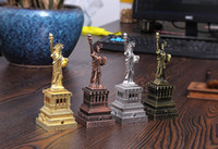 Wholesale american liberty - The Statue of Liberty replica model American New York figurine world famous landmark architecture Metal photography props gift
