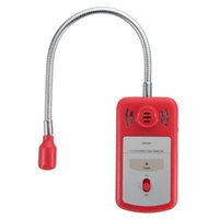 Wholesale combustible gas alarm detector - Wholesale- Safurance Portable Gas Combustible Detector Gas Leak Tester with Sound and Light Alarm Red Home Security High Sensitive