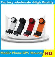gps sahipleri bağlar toptan satış-Evrensel Cep Telefonu Tutucu Araba Hava Firar Montaj Dirseği Cep telefonları GPS PDA için Ücretsiz kargo
