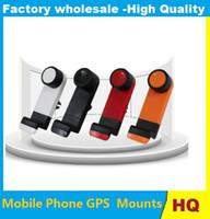 lüftungshalter großhandel-Universal Handyhalterung Auto Air Vent Halterung für Handys GPS PDA Kostenloser Versand