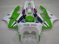 Wholesale Kawasaki Zx6r 97 Green Fairings - Bodywork Ninja Zx-6r 1994 Body Kits 636 Zx-6r 96 97 White Green Plastic Fairings Zx6r 1996 1994 - 1997