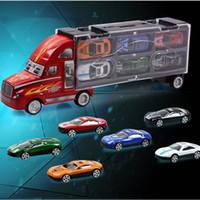 ingrosso giocattolo di guida dell'automobile-Box Matchbox 1:64 Mini lega da collezione Model Cars Exotic Classic Ride Jungle Crew Diecast Car Strumenti educativi Giocattoli Ragazzo