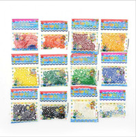 Wholesale Crystal Soil 5g - 5G 13 Colors Water Beads Crystal Mud Water Gel Beads Soil Crystal Soil Plant Flower Jelly Crystal Soil Mud Water Pearls Gel Bead