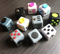Wholesale Cube Controller - 11color 2017 New Fidget cube world's first American decompression anxiety Toys Free shipping