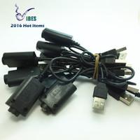 ego v cabo usb venda por atacado-EGO Cabo USB Carregador USB Cigarro Eletrônico Ego T EVOD Bateria 510 4.2 V 420mA 5 V entrada Ecig Carregador de Baterias DHL Frete Grátis