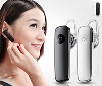 Wholesale Earbud Cases - M165 Mini Wireless Bluetooth Earphone Portable Headphones Bluetooth Headset Hands-free Earbud with mic case in Car for Phone