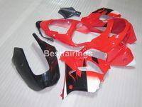 ingrosso kit kawasaki zx9r-Kit carenatura in plastica di alta qualità per carene Kawasaki Ninja ZX9R 98 99 rosso nero ZX9R 1998 1999 TY16