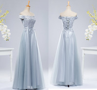 Wholesale Lace Toast - Free Shipping Banquet Evening Dress In, The New Korean Style Shoulder Slim Slim Dress Bridesmaid Dress Toast Service HY1479
