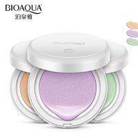 Wholesale Easy Skin - BIOAQUA Brand Air Cushion Base Liquid Foundation Face Primer Makeup Brighten Whitening Concealer Naked Skin Use Before BB Cream