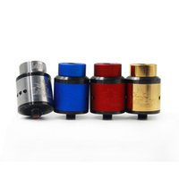 Wholesale Thread Art - Newest 528 Goon Lost Art Edition Goon RDA Atomizers clone with 24mm Diameter 4 Colors for 510 Thread Vape Mods DHL free