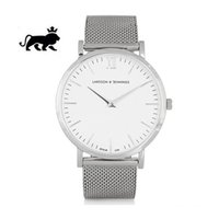 Wholesale Stainless Steel Mesh Watch Straps - 2017 Top Luxury brand LJ Watches men Stainless Steel Mesh strap Quartz-watch Ultra Thin Dial Clock Women's Watch lover series