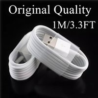 Wholesale Galaxy Cable Chargers - 1M 3.3Ft Original USB Cable Fast Charger Sync Data Genuine Micro USB Cables Original Quality Cable For Samsung Galaxy LG HTC Sony