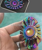 Mini Poisson Jouet Pas Cher-Rainbow Color Thor Fouget spinner Butterfly Fish Egyptian Beatle Hands Spinner Thor Alloy Metal Fidget Spinner EDC Finger Toy Golden