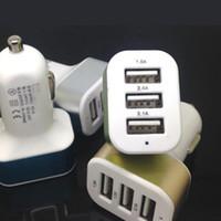 carregadores de celular apple 4s venda por atacado-Venda quente USB Carregador de Carro Adaptador USB Universal Colorido Carregador de Carro para o telefone celular iPhone 4 4s 5 5S 5c 6 samsung s3 s4 s5 DHL frete grátis