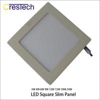 kit de luz empotrada led al por mayor-15W 18W 23W Rejilla empotrada Panel LED Luminaria empotrable Kit de accesorios de iluminación Blanco cálido y blanco frío