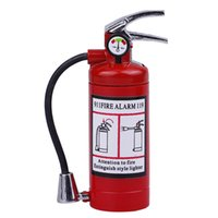 Wholesale Extinguisher Butane - Wholesale- Novelty Fire Extinguisher Style Cigarette Lighter Refillable Butane Cigarette Lighter