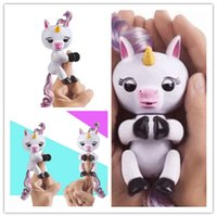 Wholesale Pink Black Favors - Unicorn Fingerling Toys For Kids Fingerling Favors Toys Unicorn Fingerling Factory Hot Selling Wholesale Free Shipping