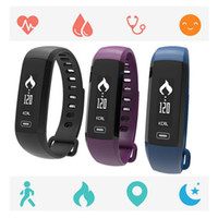 Wholesale apple sms - jcd New M2 Blood Pressure Wrist Watch Pulse Meter Monitor Cardiaco Smart Band Fitness Tracker Smartband Call SMS iOS Android Bracelet Mi