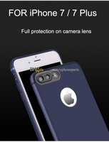 Wholesale Lens 3d Blue - 2017 New Phone Shell For iPhone 6 6S 7 Plus Soft TPU Silicone Cases 3D Cat Eye Frosted Lens Protection